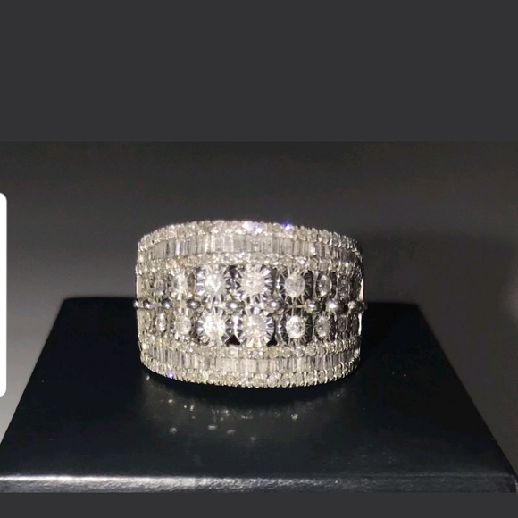 98899e2cb Macy's Jewelry | Preowned 15 Ct Tw Cocktail Diamond Band | Poshmark
